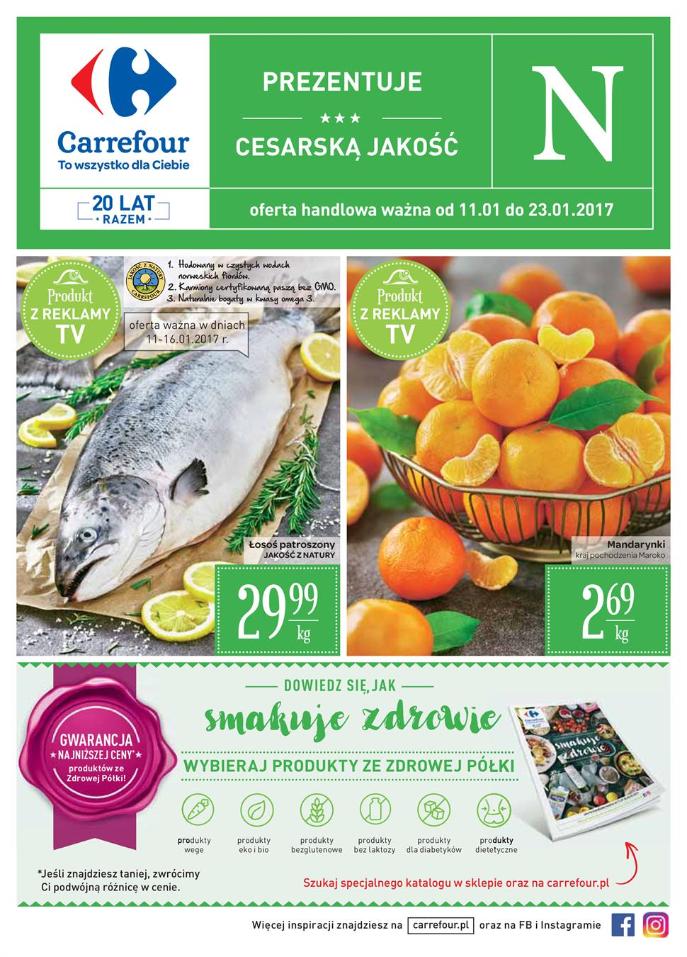 Gazetka Carrefour Polska Sp. z o.o. nr 8 od 2017-01-11 do 2017-01-23