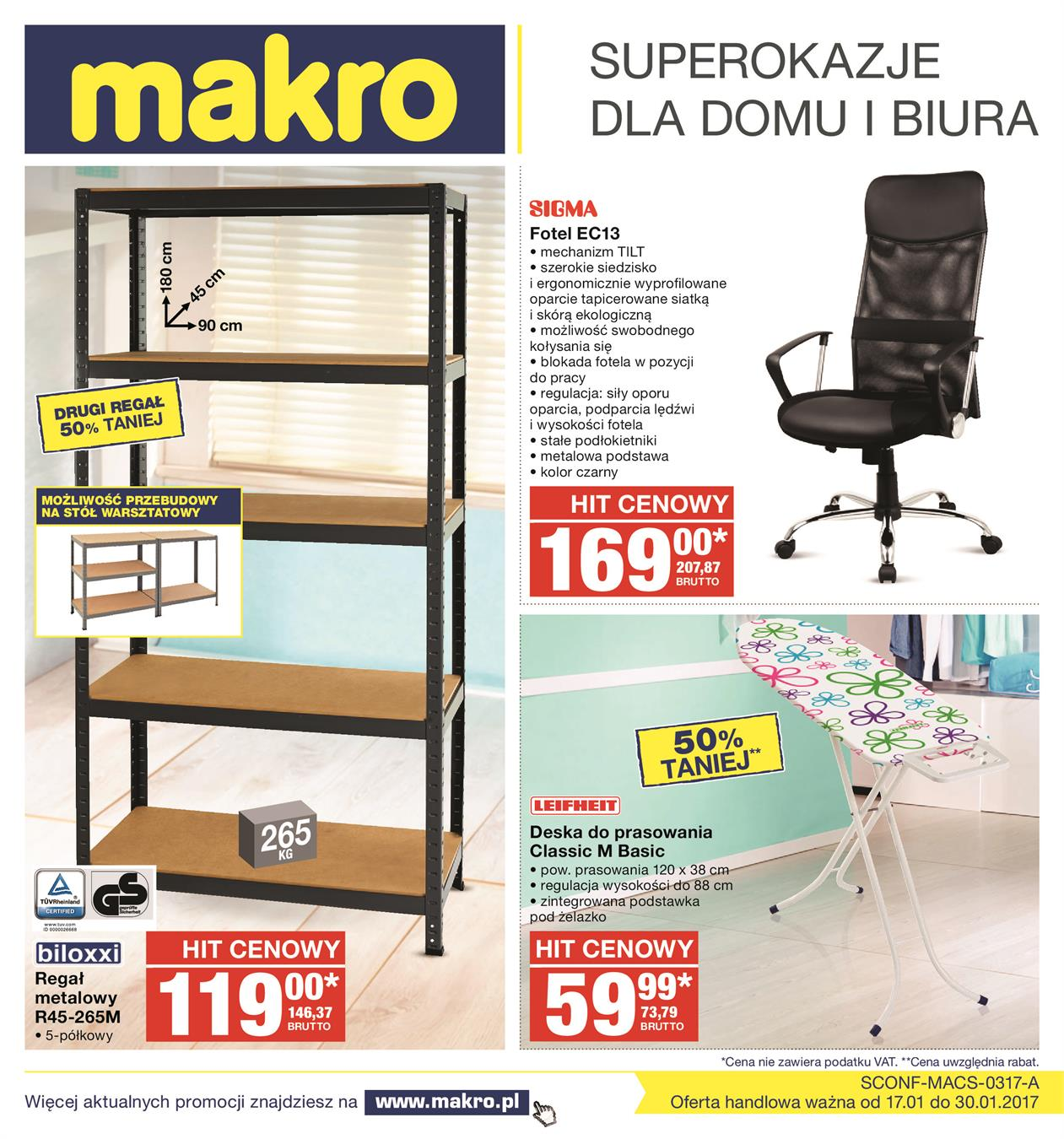 Gazetka MAKRO CASH AND CARRY POLSKA S A nr 2 od 2017-01-17 do 2017-01-30