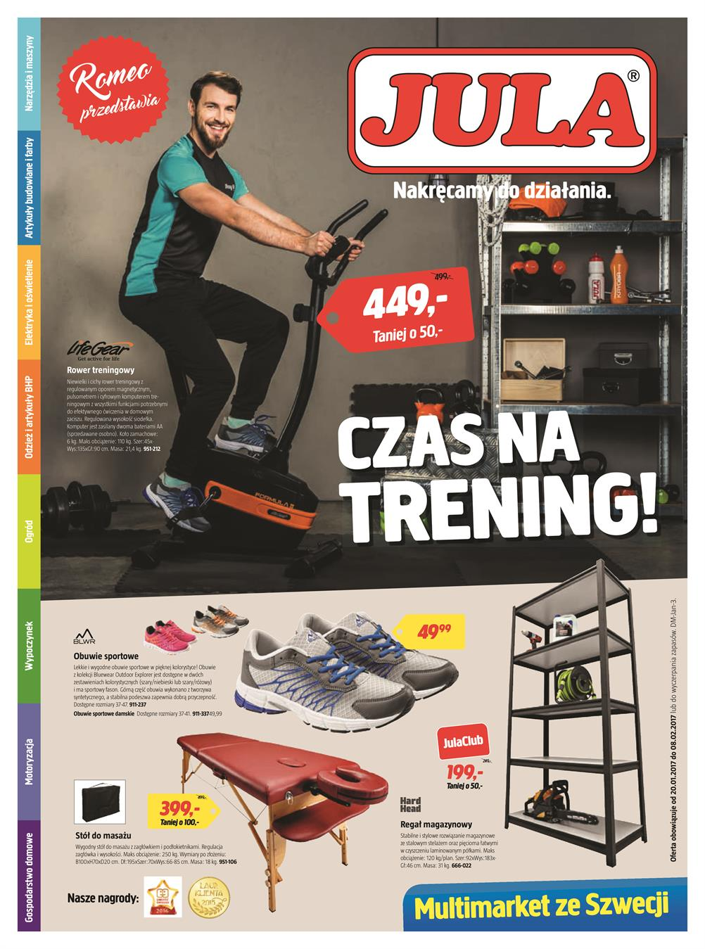 Gazetka Jula Poland Sp. z o.o. nr 1 od 2017-01-20 do 2017-02-08