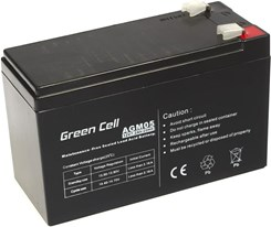 Green Cell Akumulator żelowy AGM 12V 7.2Ah (AGM05 1588)