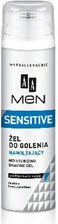 AA Men Sensitive żel do golenia nawilżający 200 ml
