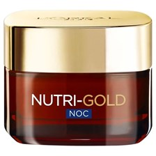 L'Oreal NUTRI-GOLD LIGHT & SILKY Krem na NOC 50 ml