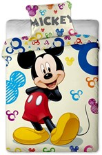 Jerry Fabrics Pościel Mickey and Minnie Games 140x200