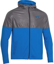 Under Armour Kurtka Męska Light Weight Full Zip (niebiesko-szara)