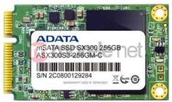 A-DATA SSD SX300 256GB mSATA SATA3 MLC (ASX300S3-256GM-C)