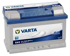 Varta Blue Dynamic E43 72Ah 680A