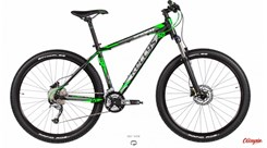 Mtb Kellys Spider 50 Black Green 2017