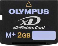 Olympus 2GB xD-Picture Card Type M+ (XD2GBB)
