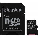 Kingston microSDXC 64GB Class 10 (SDC10G2/64GB)