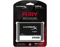 Hyperx Kingston Fury 240Gb Sata3 2,5Cala 500/500 Mb/S (SHFS37A/240G)
