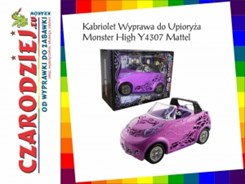 Mattel Monster High Upioryż Kabriolet Y0425/Y4307