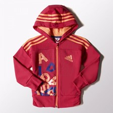 Bluza adidas Rock It Full Zip Hoodie Kids S21672