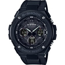 Casio Mens G-Shock Radio Controlled Solar Black Watch