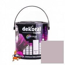 Dekoral Akrylit W Fashion Collection Koronkowy Róż 2,5l