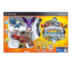Skylanders Giants - Starter Pack  (Gra PS3)
