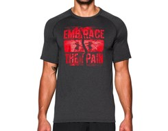 "Under Armour Koszulka Termoaktywna ""Embrace The Pain"" Dark Grey K/R (1271748-005)"