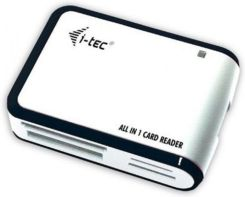 iTec USB 2.0 All-in-One Memory Card Reader (white/black) (USBALL3-W)