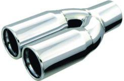 Końcówka tłumika chromowana