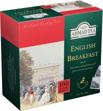 Ahmad Tea London english breakfast tea 100 torebek bez zawieszki