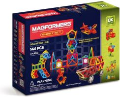 Magformers Magnetyczne Smart 144 Elementy 63082