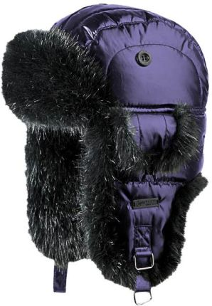 Barts czapka Down Kamikaze (Fioletowa, Dark Purple)