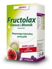 Fructolax Owoce i Błonnik 30 tabletek