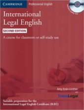 International Legal English 2nd Edition Student's Book with Audio CDs