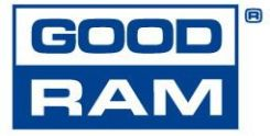 Goodram 1x 4GB ECC UNBUFFERED DDR3 1066MHz PC3-8500E UDIMM (W-MEM1066E34G)
