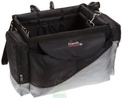 Torba transportowa na rower - Friends on Tour de Luxe - wys. x dł. x szer.: 26 x 43 x 26 cm