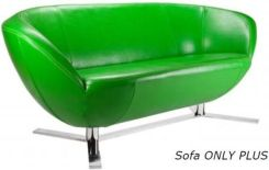 Marbet Style sofa Only Plus Chrome