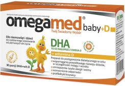 Suplement diety Omegamed Baby+D DHA + witamina D3 30 kaps. - zdjęcie 1