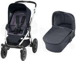 Maxi Cosi Mura 4 Plus Total Black Głęboko spacerowy