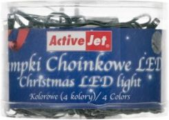 ActiveJet Lampki Choinkowe 80LED AJE-CL810RGBO multi Kol zew