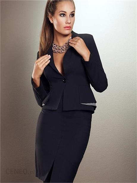 36c10bd6fb167 Ryłko Fashion Żakiet Queens01-036-0429 Czarny - Ceny i opinie - Ceneo.pl