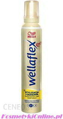 Wella Wellaflex Pianka do Włosów Stylizacja i Odnowa Mocno Utrwalająca 200 ml