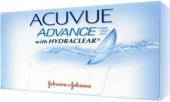 Johnson & Johnson Acuvue Advance z Hydraclear 6 szt