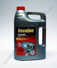 Texaco Havoline Synthetic 5W40 5L