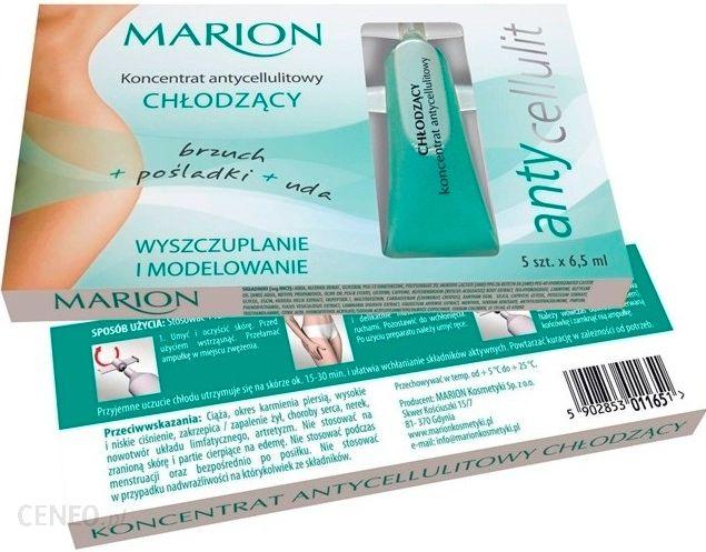MARION AntyCellulit Koncentrat antycellulitowy chłodzący w ampułkach 5x6 5 ml