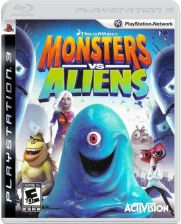 Monsters vs. Aliens (Gra PS3)