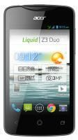 Acer Liquid Z3 Duo 4GB czarny