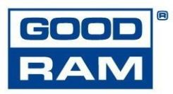 Goodram 1x 2GB  ECC UNBUFFERED DDR3 1600MHz PC3-12800 UDIMM   (W-MEM1600E32G)