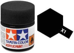 Tamiya Farba Akrylowa X1 Black Gloss 10ml Tamiya 81501 Ceny I