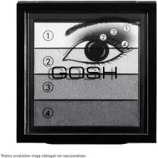GOSH Smokey Eyes Palette Paleta cieni do powiek Somkey Eye 01 Black