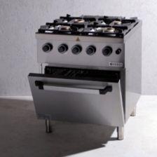 Kuchenka gazowa 4 palnikowa z piekarnikiem