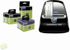 Dymo Labelwriter 450 + 3 Rolls Of Labels