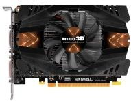 Inno3d GeForce GTX 750 Green - 1024 MB DDR5 - Mini-HDMI DVI (8,35168E+11) (N750-1SDV-D5CW)