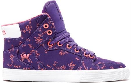 buty SUPRA - WMNS VAIDER PURPLE / PINK - WHITE (PUP)