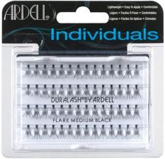 Ardell Individual Professional Rzęsy Kępki Flare Medium Black 1ml