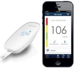 Ihealth Elektroniczny Glukometr Bezprzewodowy Wireless Glucose Meter Ios Android (Bluetooth)