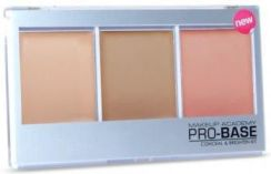 MUA Pro-Base Conceal & Brighten Kit Zestaw kamufalży Beige-Golden